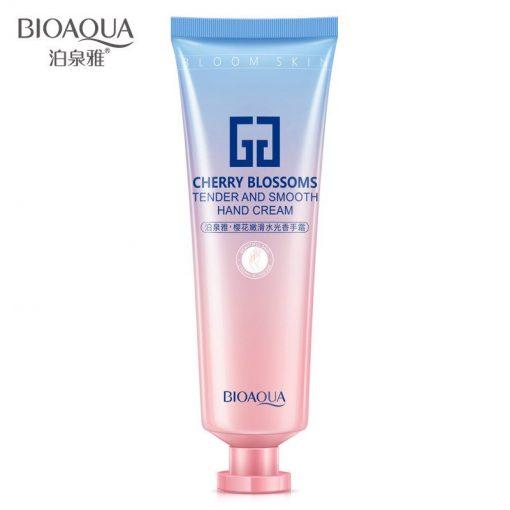 BIOAQUA Sakura Moisturizing Water Light Hand Cream(prosadhoni)