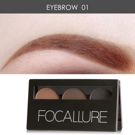 Focallure 3 Colors Waterproof Eye Shadow Prosadhoni.com prosadoni prosadhoni products