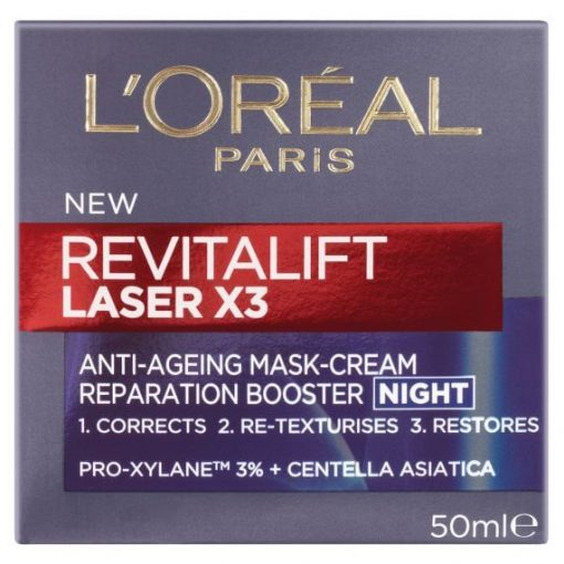 L'Oreal New Revitalift Laser 3 Anti-Ageing Cream Mask Night