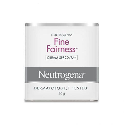 Neutrogena fine fairness cream SPF 20/PA+