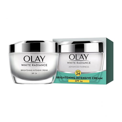 Olay White Radiance Advanced Fairness Brightening Intensive Skin Cream Moisturizer SPF24 50g