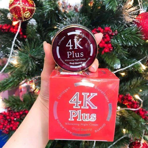 4K plus Goji berry night Cream