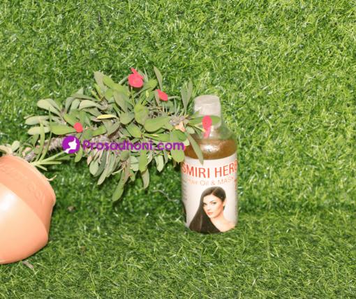 Kashmiri Herbal Hair Oil And Mask