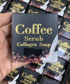 COFFEE SCRUB COLLAGEN SOAP